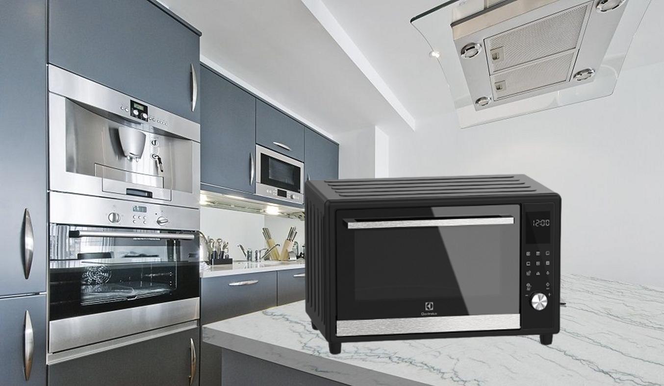 Lò nướng Electrolux EOT40DBD - Thiết kế nhỏ gọn, giải pháp tối ưu cho công việc nội trợ