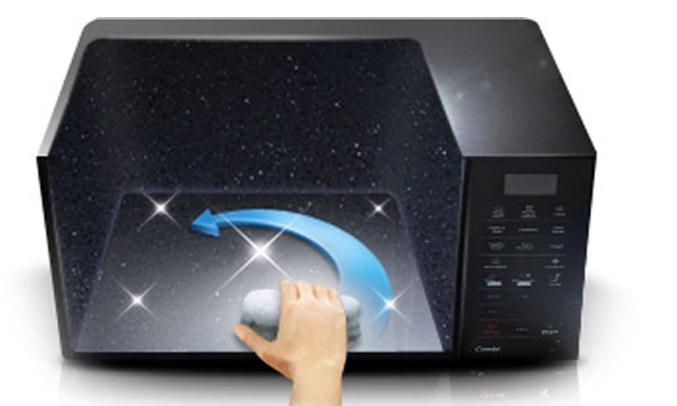 Lò vi sóng Samsung CE73J đẹp mắt