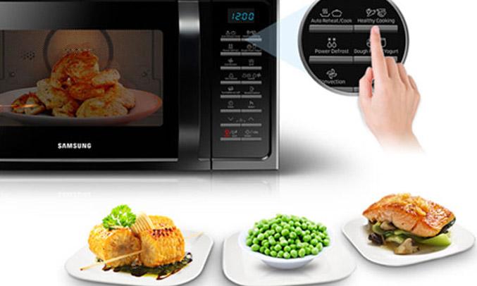 Lò vi sóng SamsungMG28H5015AK/SV tiết kiệm điện