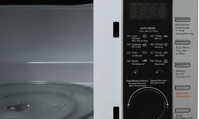 Lò vi sóng Sanyo EM-G7786 điều khiển dễ dàng
