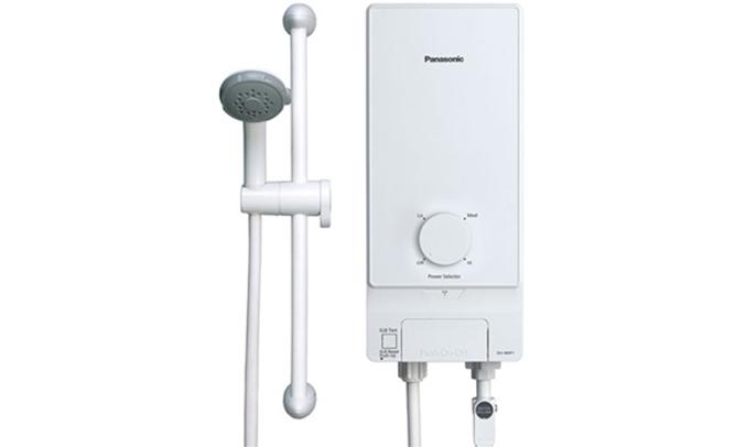 máy nước nóng Panasonic DH-4MP1 thiết kê gọn gàng