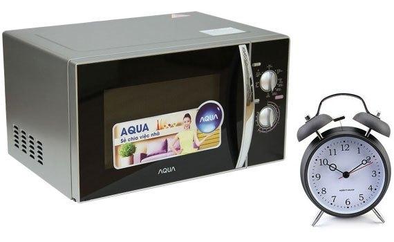 Lò vi sóng Aqua AEM-G3133V có chức năng hẹn giờ