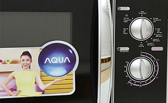 Lò vi sóng Aqua AEM-G3133V dễ sử dụng