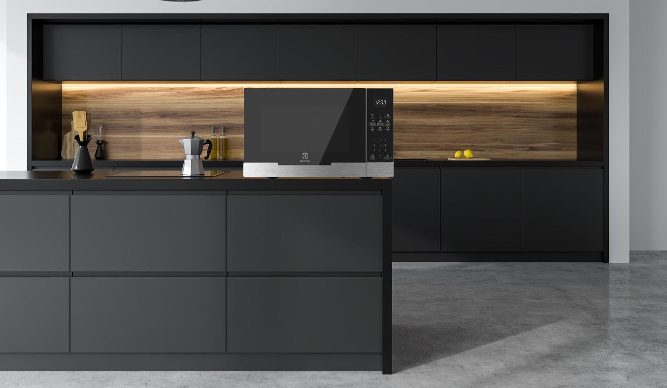 Lò vi sóng Electrolux 23 lít EMG23DI9EBP - Thiết kế sang trọng, tối giản, phù hợp mọi không gian bếp