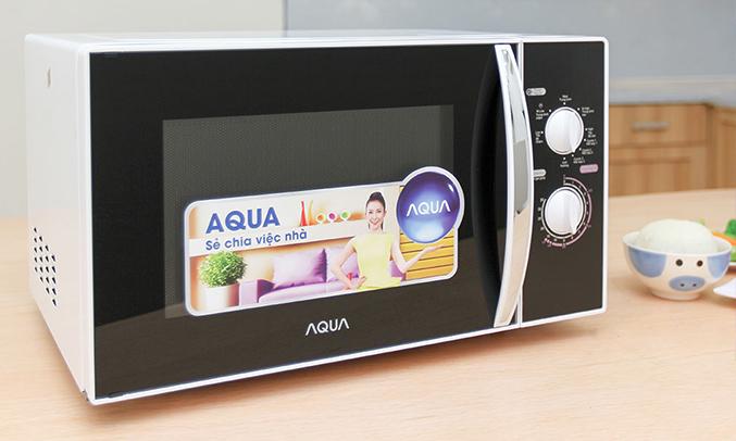 Lò vi sóng Aqua AEM-G3133W23 lít sang trọng