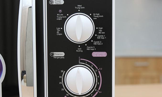 Lò vi sóng Aqua AEM-G3133W23 lít điều khiển cơ
