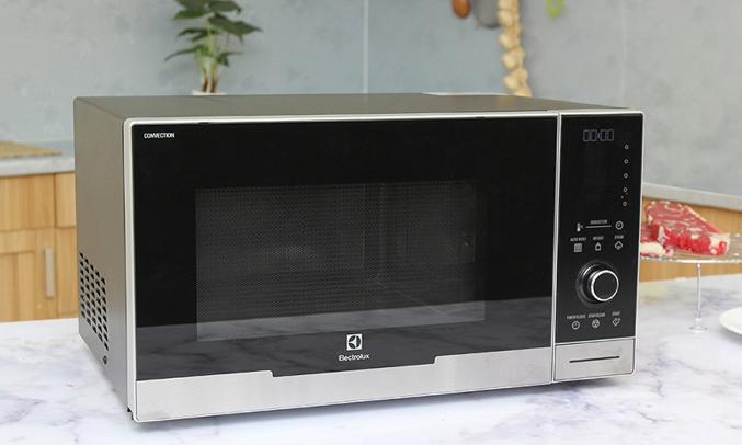 Lò vi sóng Electrolux EMS3087X thiết kế sang trọng, hiện đại