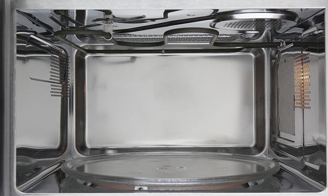 Khoang lò vi sóng Electrolux EMS3087X rộng