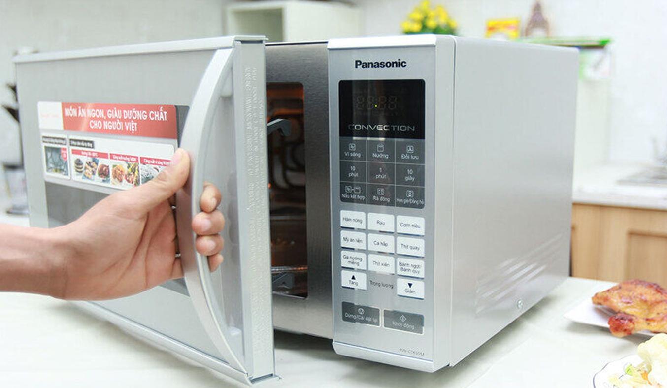 Lò vi sóng Panasonic 27 lít NN-CT655MYUE khoang lò rộng