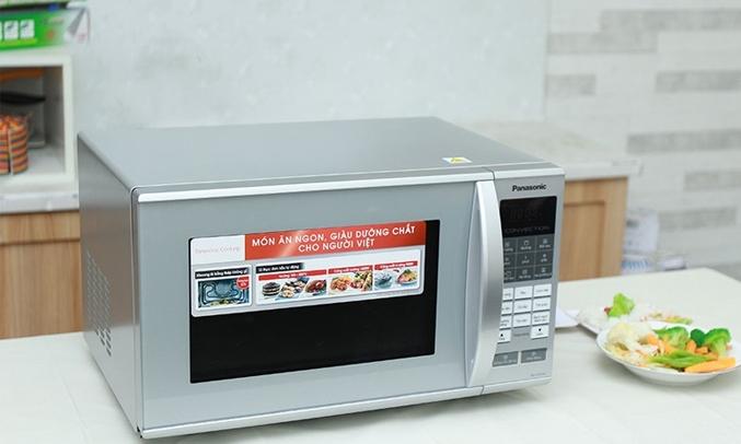 Lò vi sóng Panasonic 27 lít NN-CT655MYUE thiết kế hiện đại