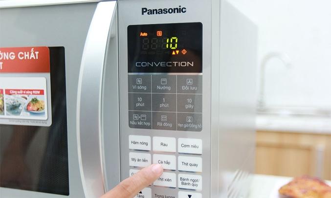 Lò vi sóng Panasonic 27 lít NN-CT655MYUE chức năng nấu đa dạng