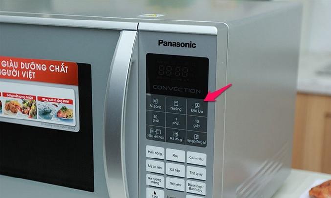 Lò vi sóng Panasonic 27 lít NN-CT655MYUE công suất lớn