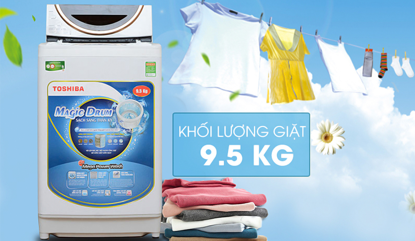 Máy giặt Toshiba AW-ME1050GV (WD) 9.5 kg