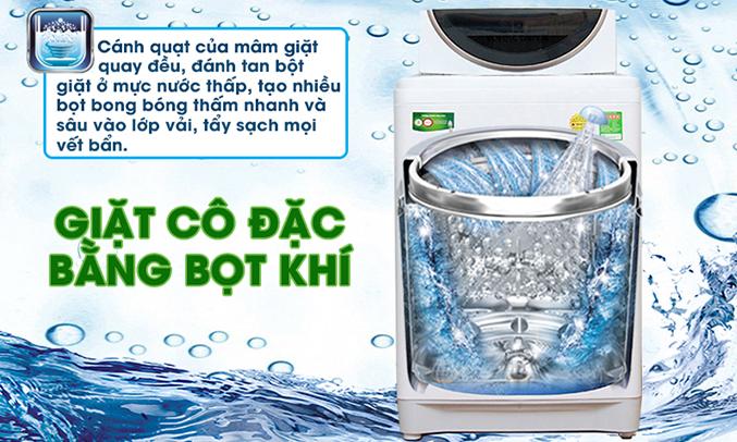Máy giặt Toshiba AW-ME1050GV (WD) tẩy sạch vết bẩn