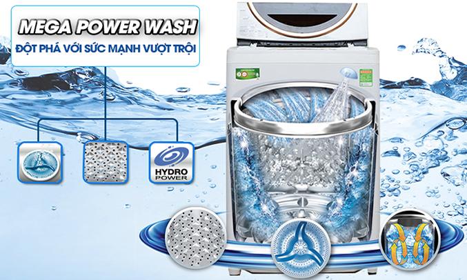 Máy giặt Toshiba AW-ME1050GV (WD) mâm giặt cao cấp