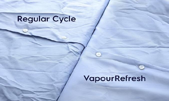 Máy giặt Electrolux Inverter 10 kg EWF1024BDWA - chu trình Vapour Refresh