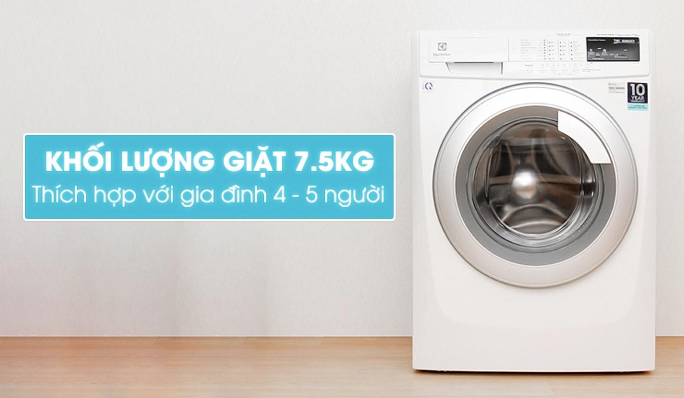 Máy giặt Electrolux EWF10744 7.5 kg giá tốt
