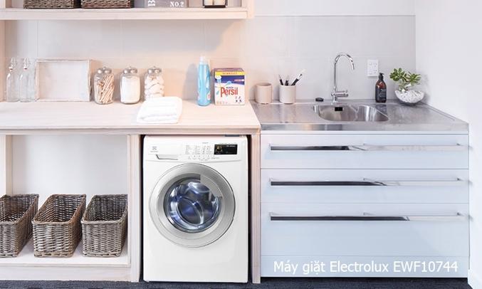 Máy giặt Electrolux EWF10744 7.5 kg chất lựơng
