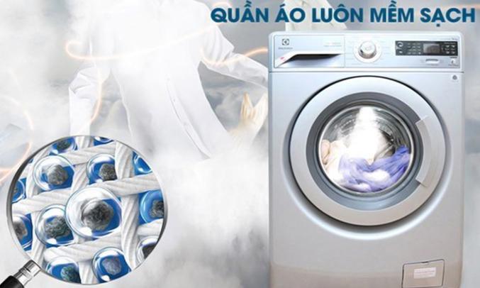 Máy giặt cửa ngang Electrolux EWF12832S diệt khuẩn