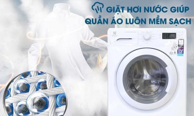 máy giặt Electrolux 9kg EWF12933 bảo vệ làn da