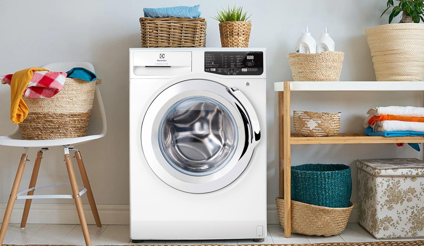 Máy giặt Electrolux Inverter 9kg EWF9025BQWA - Khối lượng giặt 9 kg