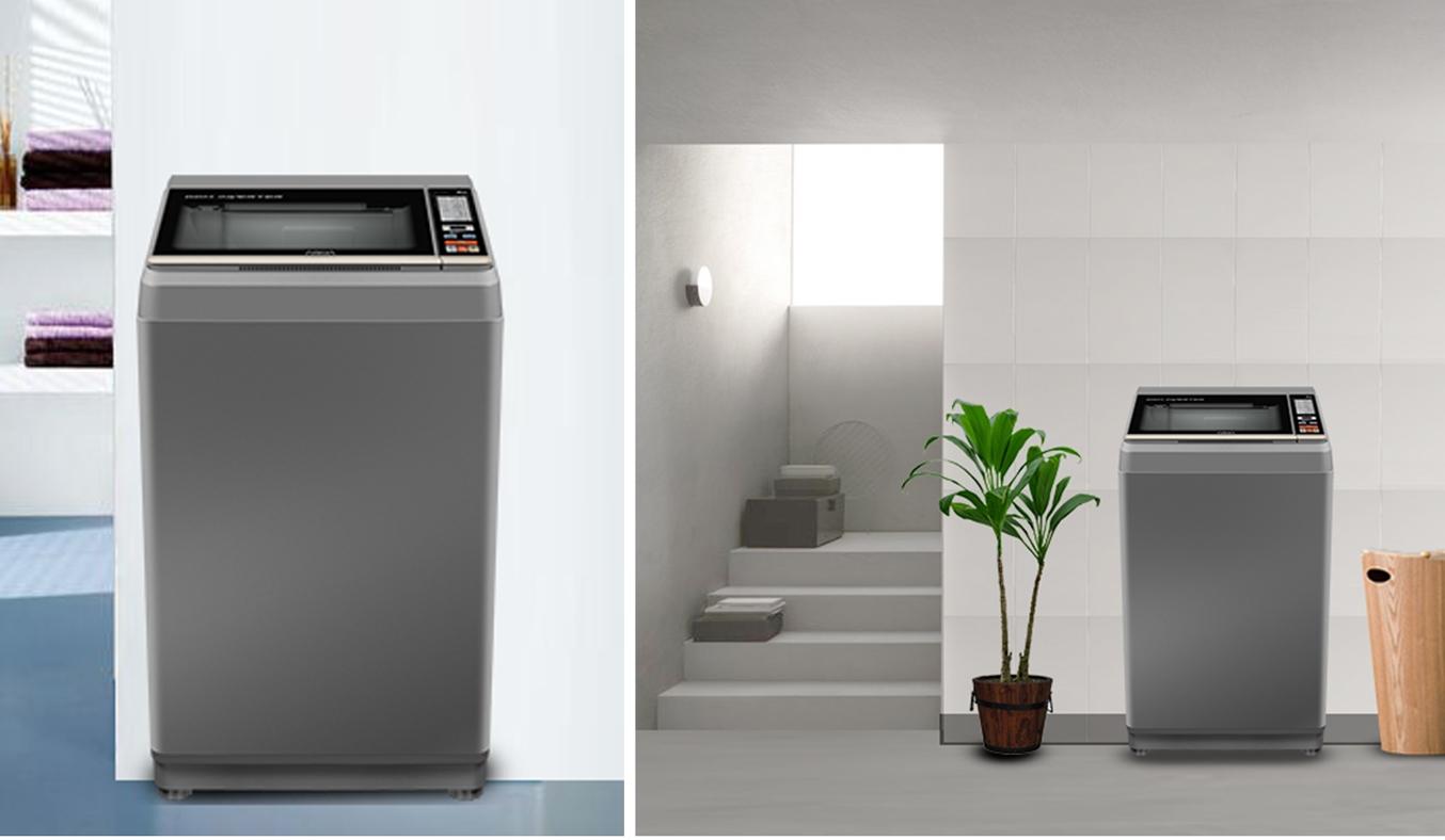 Máy giặt Aqua 7.2 kg AQW-S72CT (H2) - Máy giặt cửa trên sở hữu thiết kế hiện đại, sang trọng