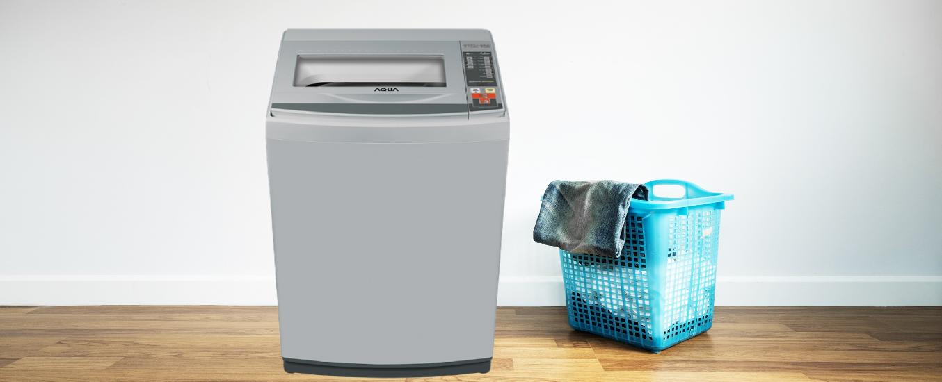 Máy giặt Aqua 7.2 kg AQW-S72CT (H2) - Tiết kiệm điện năng với chế độ tự khởi động