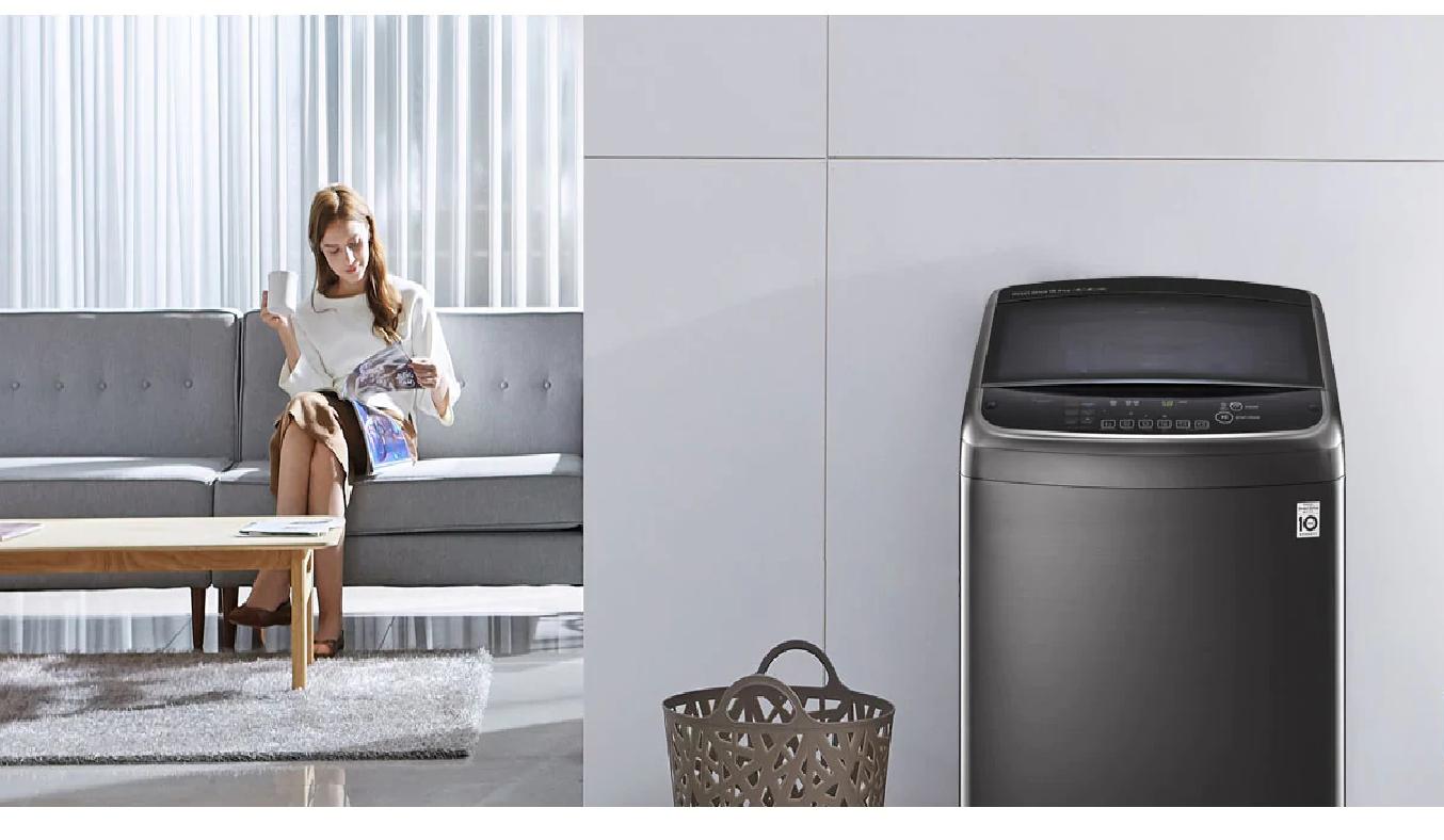 Máy giặt LG Inverter 11 Kg TH2111SSAB - Thiết kế sang trọng, khối lượng giặt lớn, phù hợp với mọi gia đình