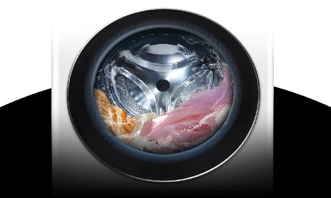 Máy giặt LG Inverter 9 Kg FV1409S2W- Công nghệ TurboWash™