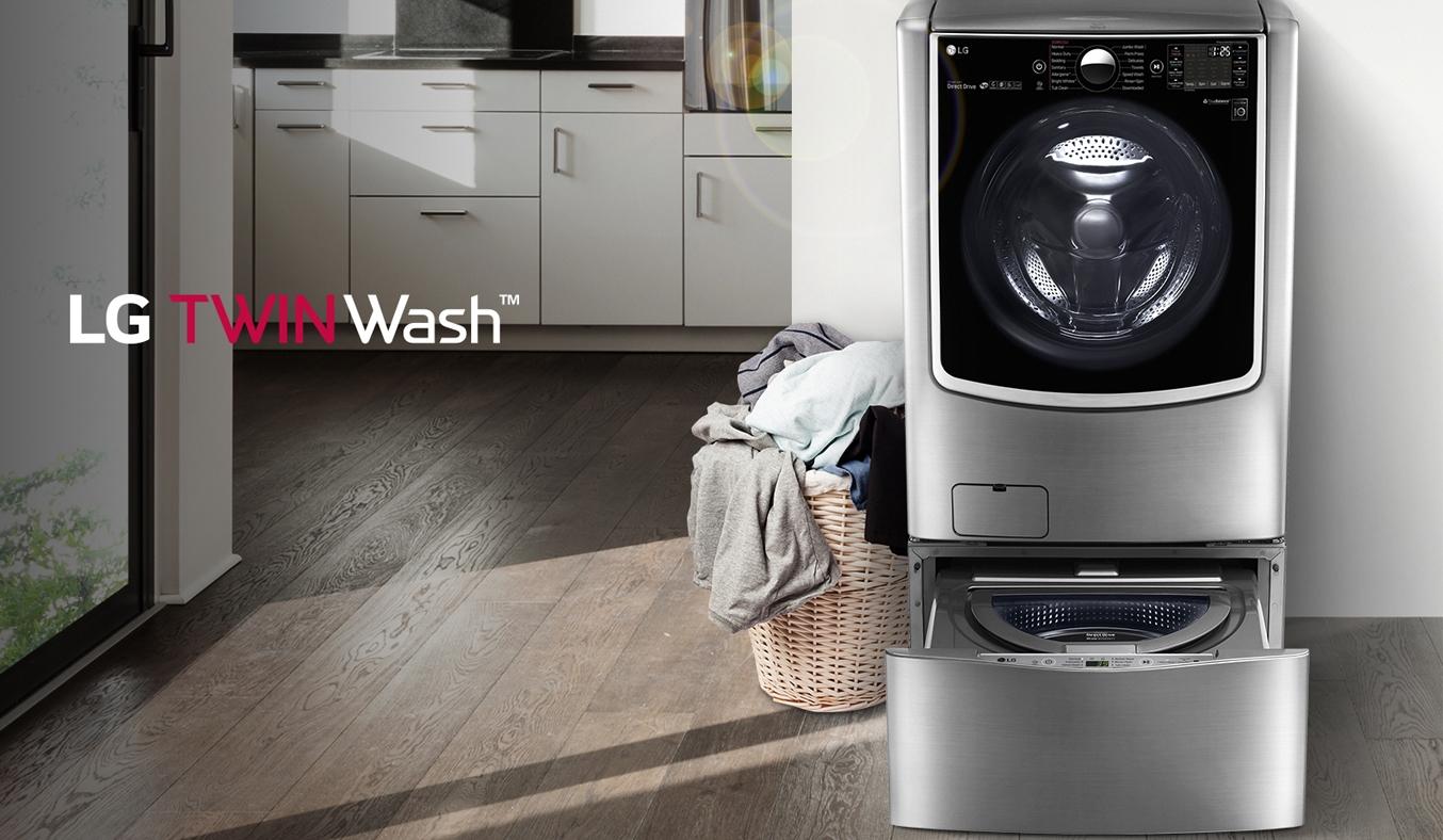 Máy giặt thông minh LG Inverter 21KG F2721HTTV tiết kiệm điện