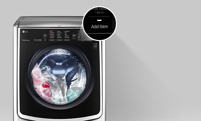 Máy giặt LG Inverter 21 kg F2721HTTV thêm đồ trong khi giặt