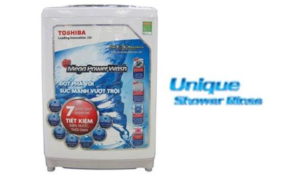 Máy giặt Toshiba AW-DC1500WV (WS) có chế độ xả phun độc đáo