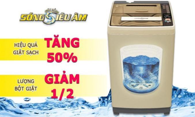 Máy giặt Aqua AQWW-D901AT (N)  tẩy sạch vết bẩn