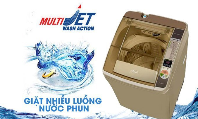 Máy giặt Aqua AQWW-D901AT (N) hiện đại