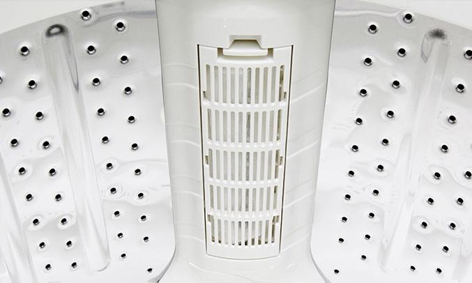 Máy giặt Aqua AQW-S80KT 8 kg lọc xơ vải tiện lợi