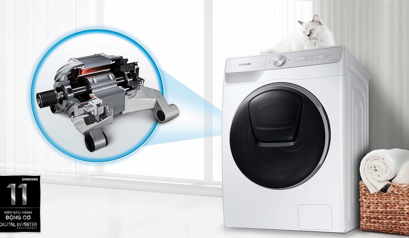 Máy giặt Samsung Inverter 8.5 kg WW85T4040CE/SV