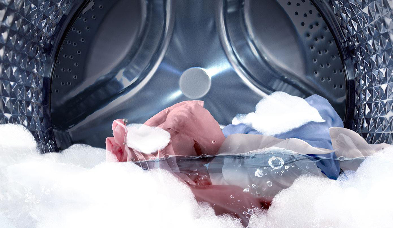 Máy giặt Samsung 21kg WR24M9960KV/SV đánh bay vết bẩn