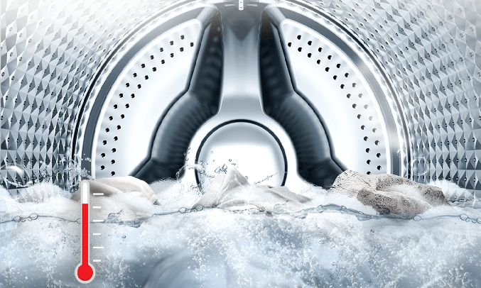 Máy giặt Samsung Inverter 8 Kg WW80T3020WW/SV - Công nghệ giặt sạch sâu và diệt khuẩn