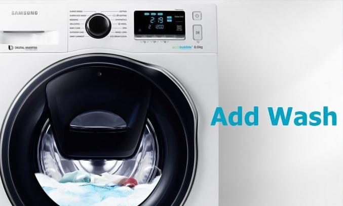 Máy giặt Samsung WW90K6410QW 9 kg tiện dụng