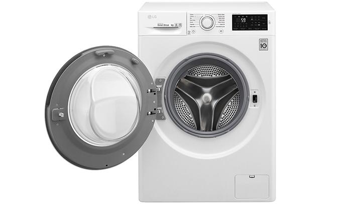 Máy giặt LG 7.5 kg FC1475N5W2 vận hành êm ái