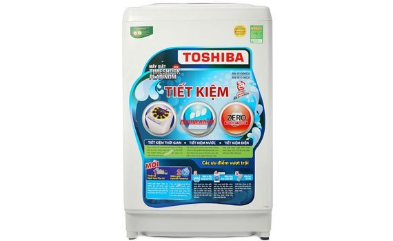 Máy giặt Toshiba AW-B1000GV có khối lượng giặt lớn đến 9kg