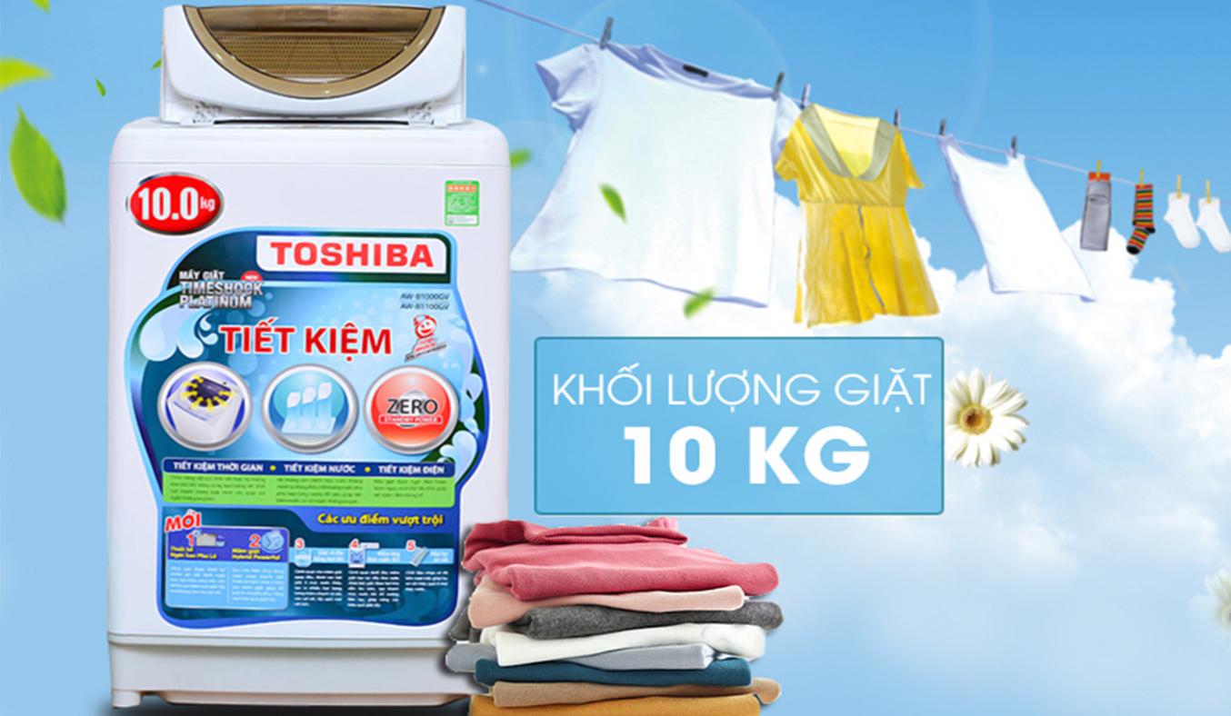 Máy giặt Toshiba AW-B1100GV(WD) 10 kg sag trọng
