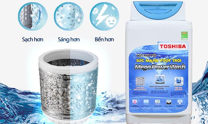 Máy giặt loại nào tốt? Máy giặt Toshiba AW-E920LV 8.2 kg xanh