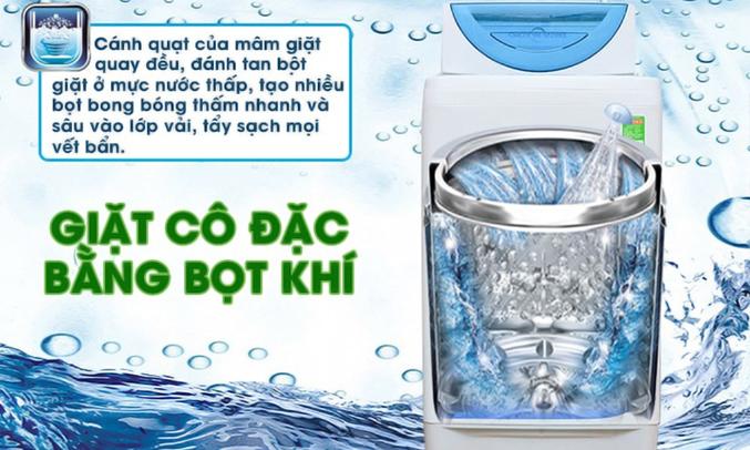 Máy giặt Toshiba AW-G920LV (WB) giặt cô đặc bằng bọt khí