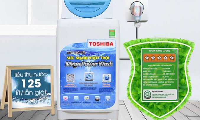 Máy giặt Toshiba AW-G920LV (WB) tiết kiệm điện