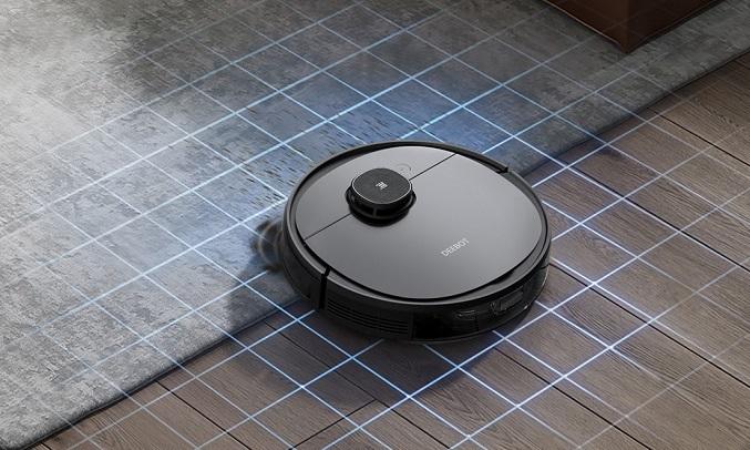 Robot hút bụi Ecovacs DEEBOT OZMO 950 DX9G