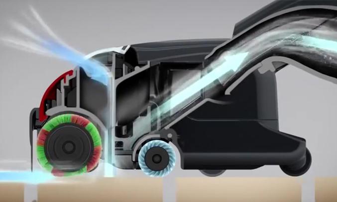 Máy hút bụi Hitachi CV-SC230V đầu hút thông minh