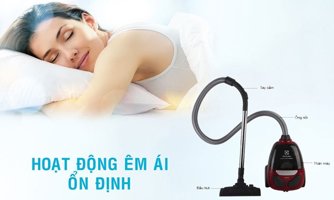 Sản phẩm có độ ồn 83dB bảo đảm sự yên tĩnh, không gây ồn