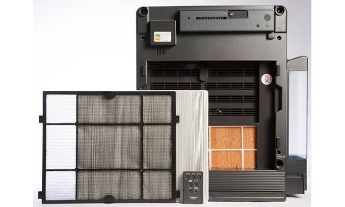 Máy lọc không khí Hitachi EP-A5000 cân bằng độ ẩm