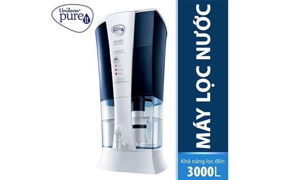 Máy lọc nước Unilever Pureit Excella 9L có thiết kế hiện đại, bắt mắt